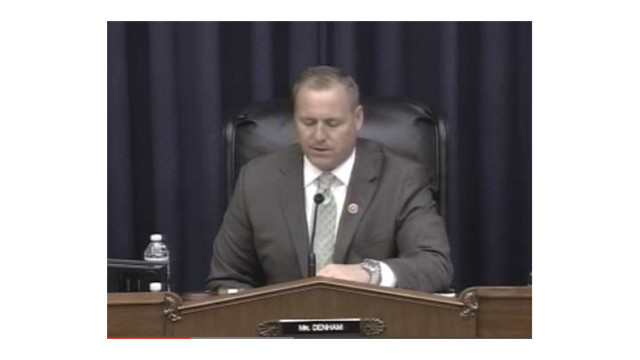 DC: Denham Statement from Hearing on 'The Role of Innovative Finance in Intercity Passenger Rail'