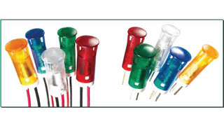 QS Series Snap-in Panel Mounted LED Indicators