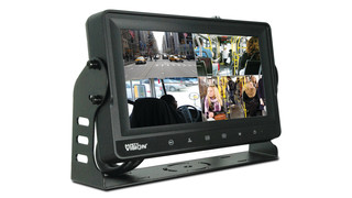 Safety Vision LLC Releases Touch Screen Sentinel DVR Monitor for Small Fleets, Paratransit Services