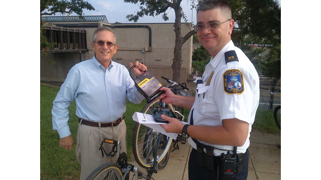 dc transit police outreach at college park to reduce bike theft. Black Bedroom Furniture Sets. Home Design Ideas