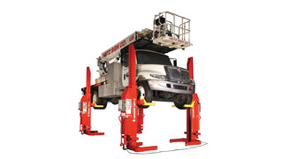 Rotary Lift to Demonstrate Timesaving Mach Series of Mobile Column Lifts at APWA Show