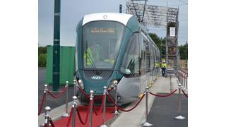 UK: Alstom Unveils the U.K.'s First Citadis Tram in Nottingham