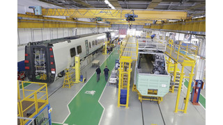 Italy: Alstom Delivers the First Body-Shells of Pendolino Trains to SBB