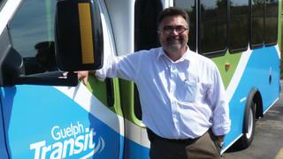 Bill Richardson joins Guelph Transit