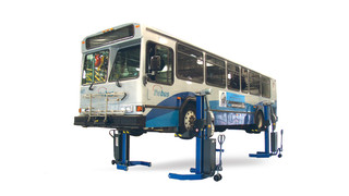 MAHA USA First to Introduce Wireless Mobile Column Lifts with Precision Ball-Screw Lifting Technology