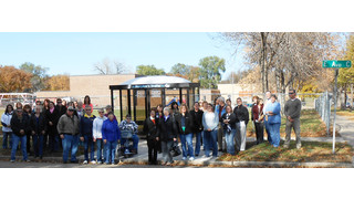 ND: CAT Bus Shelter Dedication Ceremony Honored Woman Who Gave Many A 'Head Start'