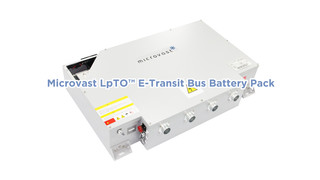Advanced Ultrafast Charge Battery Solution For E-bus/E-shuttle