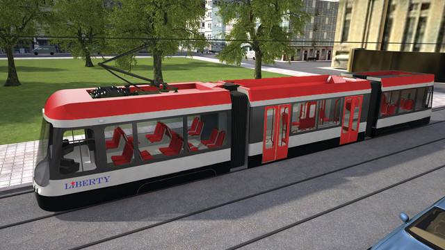 Liberty Modern Streetcar