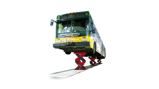 Stertil-Koni Awarded Second United States Patent for Innovative Shallow Pit Heavy Duty Scissor Lift: Ecolift