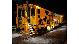 Australia: Harsco Ships TasRail Mark VI Production/Switch Tamper and Ballast Regulator