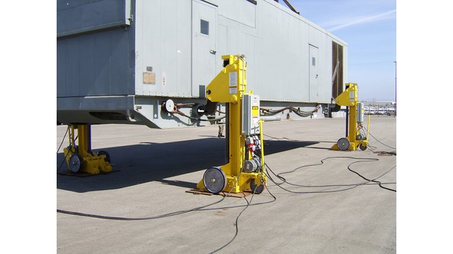 IL: Whiting's Portable Electric Jacks Offer Global Transportability and Safety when Hoisting Power Units