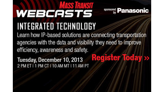 Integrated Technology: Connecting mass transit agencies with data and visibility toward efficiency, awareness and safety