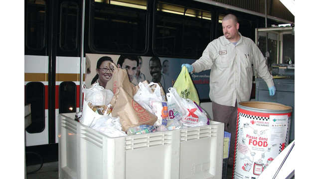 CA: County Connection's Annual Food Drive Begins Dec. 2