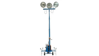 3000 Watt Mini Light Tower with 3000VA Generator