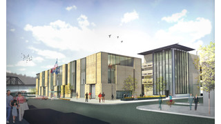 PA: City of Easton and Spillman Farmer Architects Break Ground for First Phase of $31M City Hall and Transportation Center