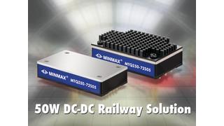 Minmax MTQZ50 Series 50 Watt DC/DC Converter