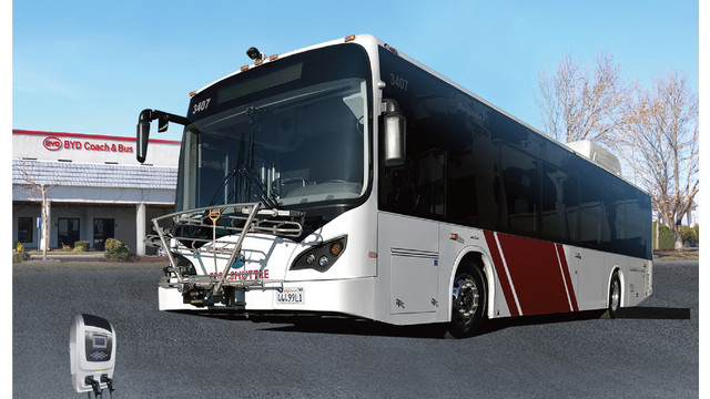 BYD 40-ft electric bus