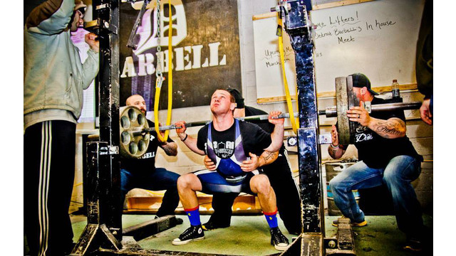 MD: Stertil-Koni's Erik Narvesen Sets Three National Records in Heavy Duty Lifting
