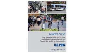 US PIRG Report: University Programs Reducing Driving on Campus