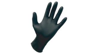 SAS Safety Black Nitrile Raven Gloves