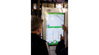 CA: CHK America Premiers ConnectPoint Interactive Touchscreen Transit Kiosk
