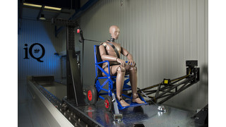 Q'Straint Unveils iQ Research Center of Excellence with Crash Test Sled