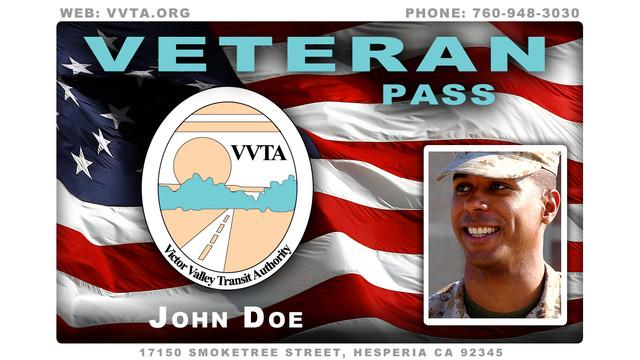 CA: VVTA Honors High Desert Veterans With Discounted Bus Pass