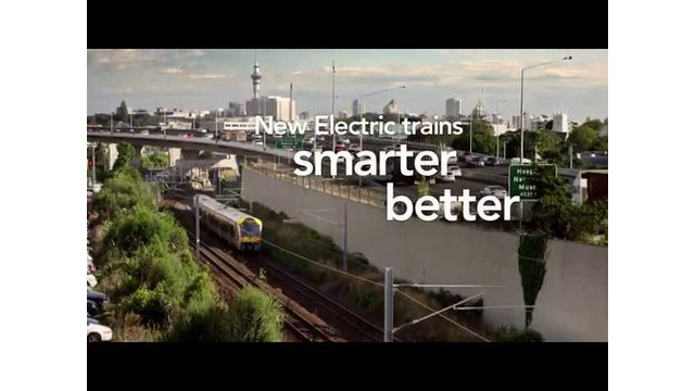 Auckland's New Electric Trains