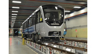 QC: Azur makes Montreal Debut as STM Takes Delivery of First Prototype Train