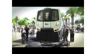 Unveiling of New BART Train Car Model