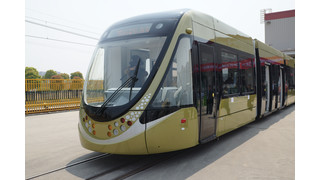 China: Bombardier Partner CSR Puzhen Presents First Low-Floor Tram for China