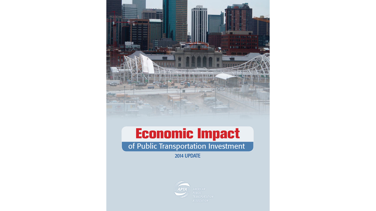 economic impact of public transportation investment