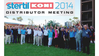 MD: Stertil-Koni Announces Record Results in Heavy Duty Vehicle Lift Sales at the Company's 18th Annual Distributor Conference