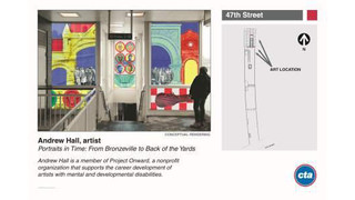 IL: Mayor Emanuel and CTA Unveil New Artwork for 8 Red Line South Stations
