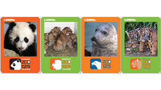 DC: Metro Unveils New Smithsonian's National Zoo 125th Anniversary Limited Edition SmarTrip Cards