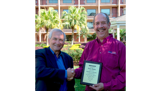 """MD: Stertil-Koni Awards Peter Bowers with """"Achievement of Excellence"""" Award"""