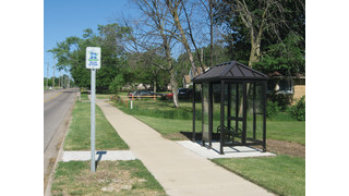 MI: Church Donates Bus Shelter to Serve Harbor Village Residents