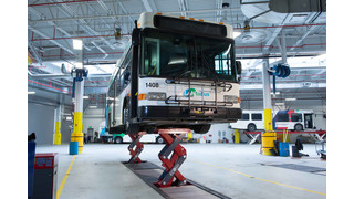 PA: Stertil-Koni Heavy Duty Vehicle Lifts Selected by LANta for Recently Completed Modern Fleet Maintenance Facility