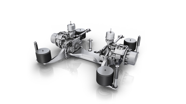 AVE 130 Rear Axle System