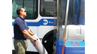 Unplugged, Hassle Free Bus Washing Comes of Age