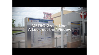 Metro Green Line: A Look out the Window