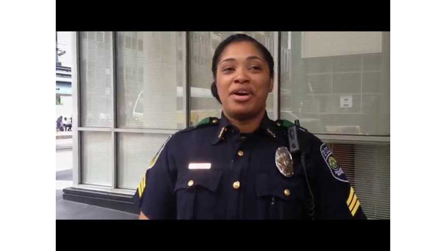 Video: Meet Crystal Parker, DART Police Sergeant
