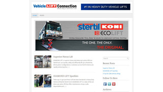 MD: Stertil-Koni Launches New 'Vehicle Lift Connection' Blog