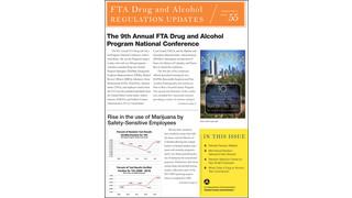 FTA Drug and Alcohol Regulation Updates - August 2014