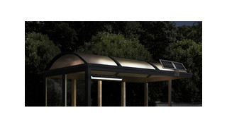 Solar Powered Light Kit for Bike Parking Shelters