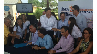 Panama: Louis Berger Signs $32 Million Panama Metro Line 2 Project Management Contract