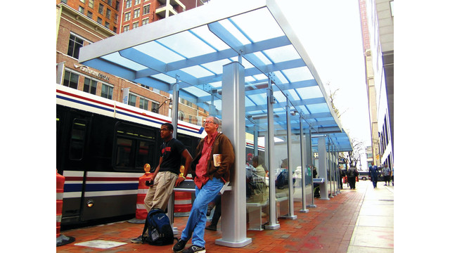COTA Installs 13 New Bus Shelters: See The Winning Design by Local CCAD Student