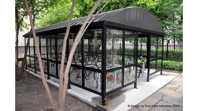 Secure Bike Shelters Address a Growing Concern