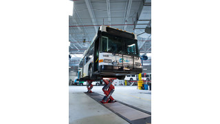 The Stertil-Koni Ecolift: Ideally Suited for Heavy Duty Lifting at Transit Agencies of All Sizes
