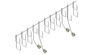 RF Cable Tray